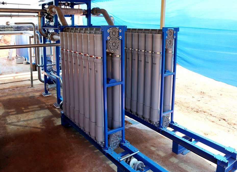 Treating secondary effluent is a highly effective way of saving water