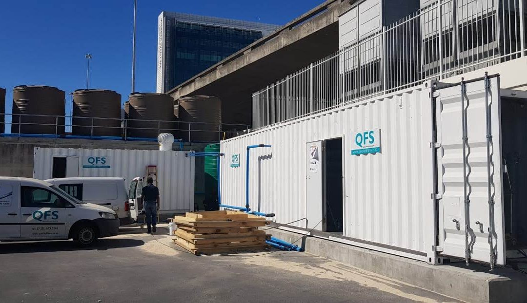 CAPE TOWN INTERNATIONAL CONVENTION CENTRE – SEAWATER DESALINATION PROJECT